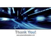 Blue Night PowerPoint Template#20