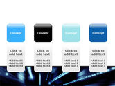 Blue Night PowerPoint Template#5