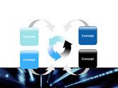 Blue Night PowerPoint Template#6