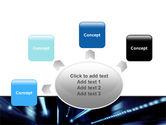 Blue Night PowerPoint Template#7