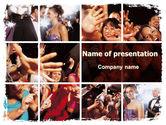 Careers/Industry: Celebrity PowerPoint Template #06414