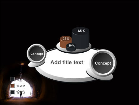 Exit From Tunnel PowerPoint Template Slide 16