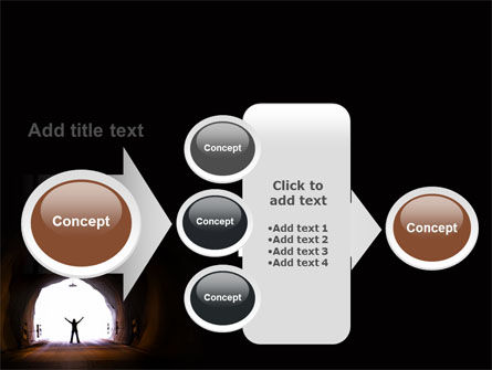 Exit From Tunnel PowerPoint Template Slide 17
