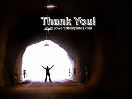 Exit From Tunnel PowerPoint Template Slide 20