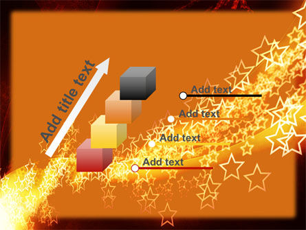 Abstract Red Stars PowerPoint Template Slide 14
