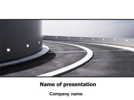 Construction: Turn PowerPoint Template #06430