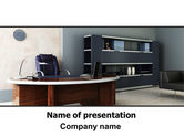 Business: Top-manager-büro PowerPoint Vorlage #06432