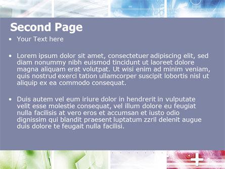 Progressive Technology PowerPoint Template, Slide 2, 06433, Abstract/Textures — PoweredTemplate.com