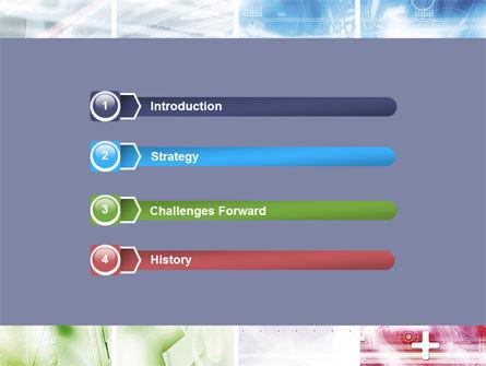 Progressive Technology PowerPoint Template, Slide 3, 06433, Abstract/Textures — PoweredTemplate.com