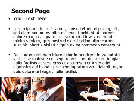 Judge PowerPoint Template, Slide 2, 06434, Legal — PoweredTemplate.com
