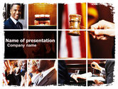 Legal: Judge PowerPoint Template #06434