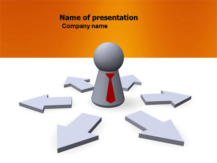 Top Management PowerPoint Template