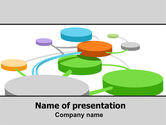 Careers/Industry: Social Network In Web 2.0 PowerPoint Template #06439