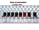 Consulting: Individual Place PowerPoint Template #06442