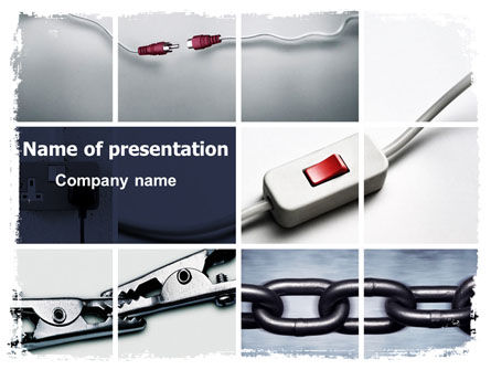 Chain Connection PowerPoint Template