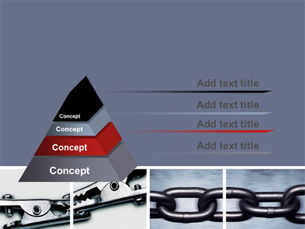 Chain Connection PowerPoint Template Slide 12