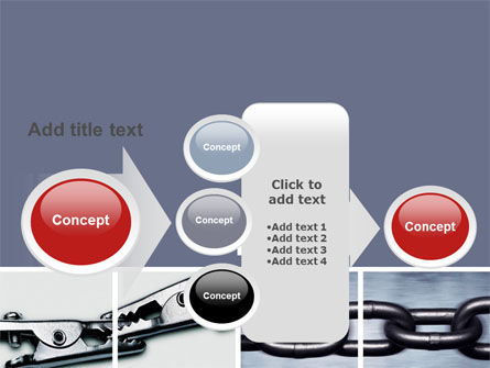 Chain Connection PowerPoint Template Slide 17