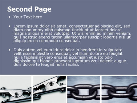 Chain Connection PowerPoint Template Slide 2