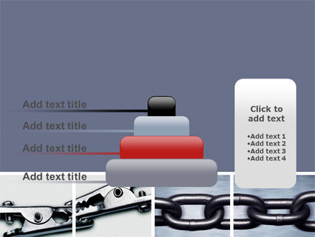 Chain Connection PowerPoint Template Slide 8