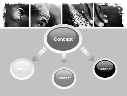 Black Athlete PowerPoint Template Slide 4