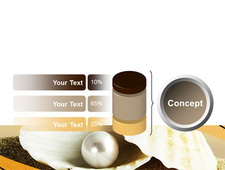 Pearl Shell PowerPoint Template Slide 11