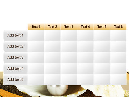 Pearl Shell PowerPoint Template Slide 15