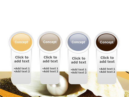 Pearl Shell PowerPoint Template Slide 5