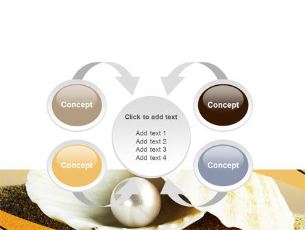 Pearl Shell PowerPoint Template Slide 6