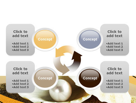 Pearl Shell PowerPoint Template Slide 9