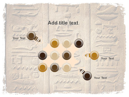 Egyptian Petroglyphs PowerPoint Template Slide 10
