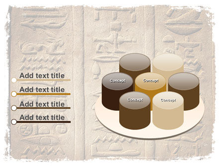 Egyptian Petroglyphs PowerPoint Template Slide 12
