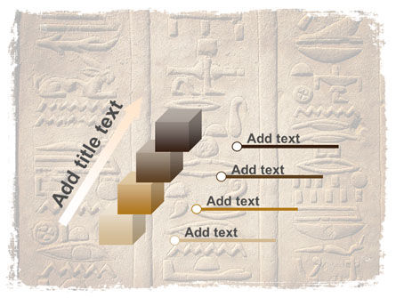 Egyptian Petroglyphs PowerPoint Template Slide 14