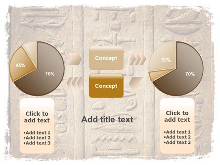 Egyptian Petroglyphs PowerPoint Template Slide 16