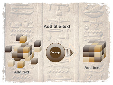 Egyptian Petroglyphs PowerPoint Template Slide 17