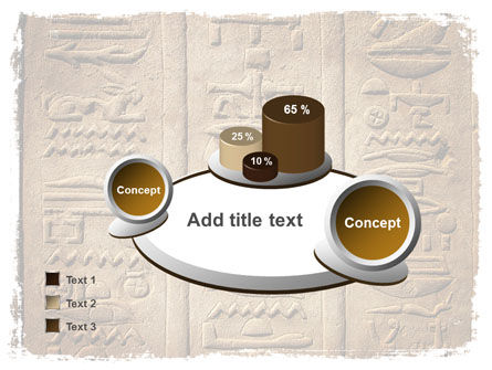 Egyptian Petroglyphs PowerPoint Template Slide 6