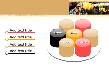 Concrete Agitator PowerPoint Template Slide 12