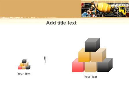 Concrete Agitator PowerPoint Template Slide 13