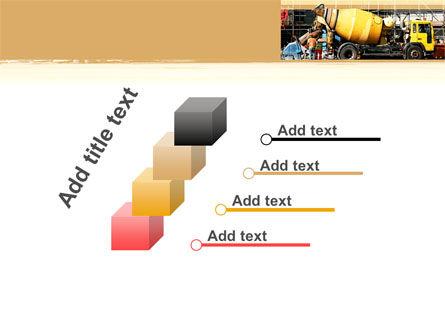 Concrete Agitator PowerPoint Template Slide 14