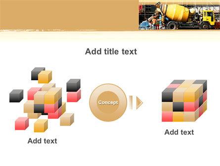 Concrete Agitator PowerPoint Template Slide 17