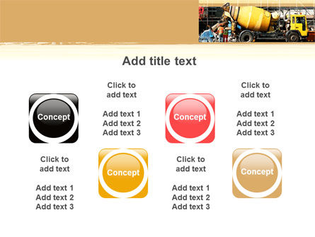 Concrete Agitator PowerPoint Template Slide 18