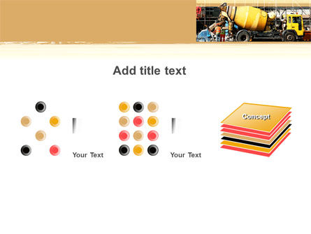 Concrete Agitator PowerPoint Template Slide 9