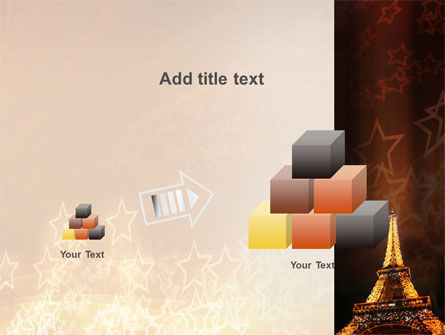 Holiday Eiffel Tower PowerPoint Template Slide 13