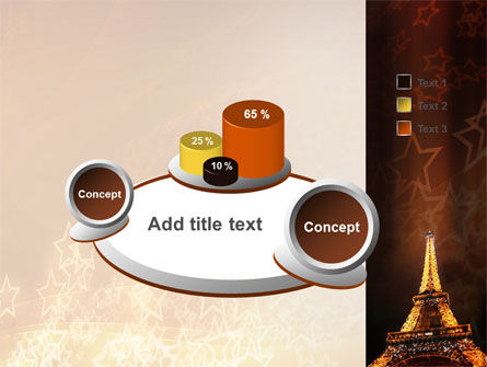 Holiday Eiffel Tower PowerPoint Template Slide 6