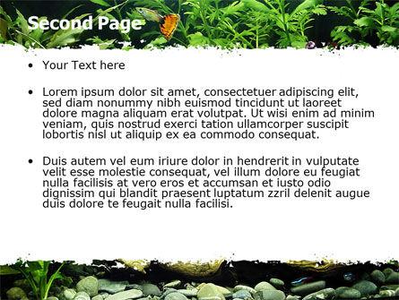 Aquarium Fish Species PowerPoint Template, Slide 2, 06452, Nature & Environment — PoweredTemplate.com