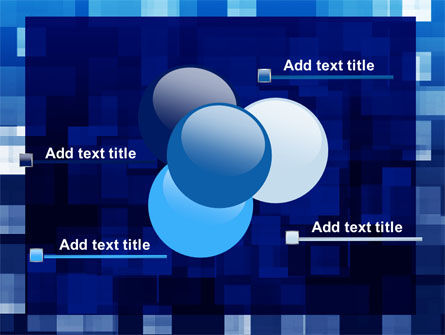 Blue Cubical Theme PowerPoint Template Slide 10