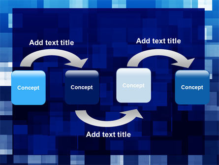 Blue Cubical Theme PowerPoint Template Slide 4
