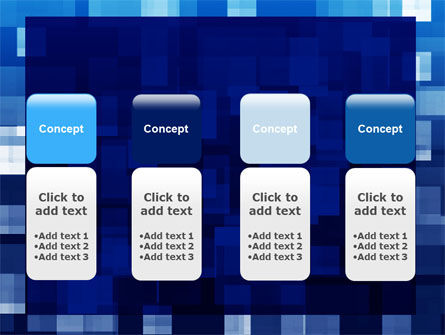 Blue Cubical Theme PowerPoint Template Slide 5
