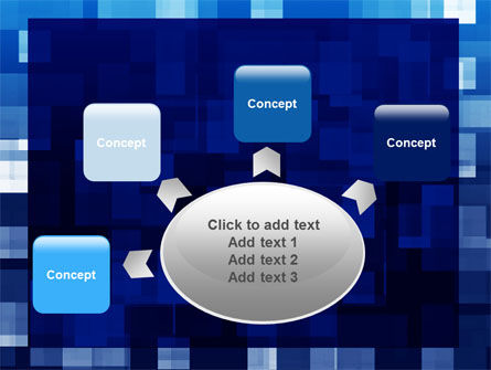 Blue Cubical Theme PowerPoint Template Slide 7