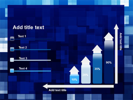 Blue Cubical Theme PowerPoint Template Slide 8
