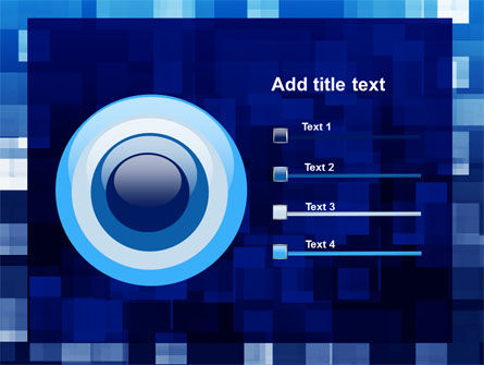 Blue Cubical Theme PowerPoint Template Slide 9